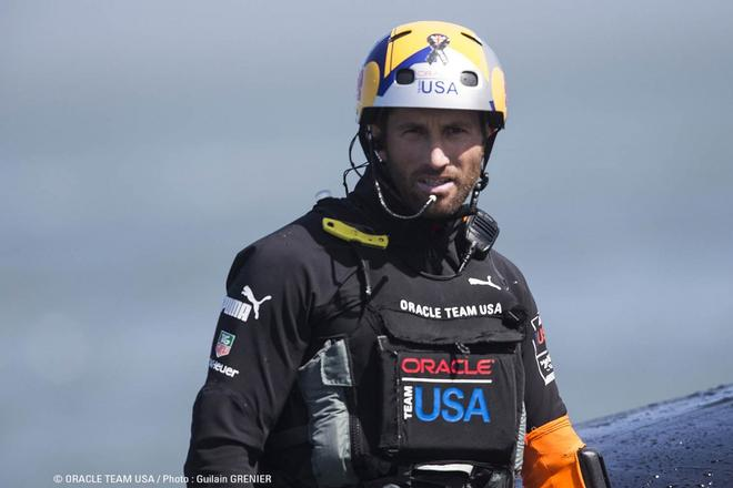 Ben Ainslie, Oracle Team USA tactician © Oracle Team USA http://www.oracleteamusa.com