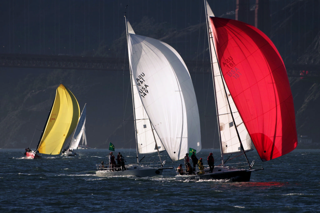When the breeze finally filled-in, Day Two became a perfect day for racing. - Rolex Big Boat Series © Chuck Lantz http://www.ChuckLantz.com