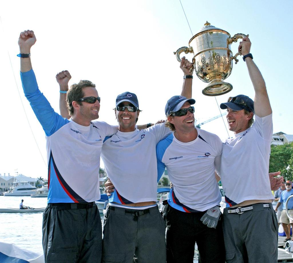 Great Britain's Olympic sailing hero Ben Ainslie won the 2009 Argo Group Gold Cup ©  Talbot Wilson / Argo Group Gold Cup http://www.argogroupgoldcup.com/