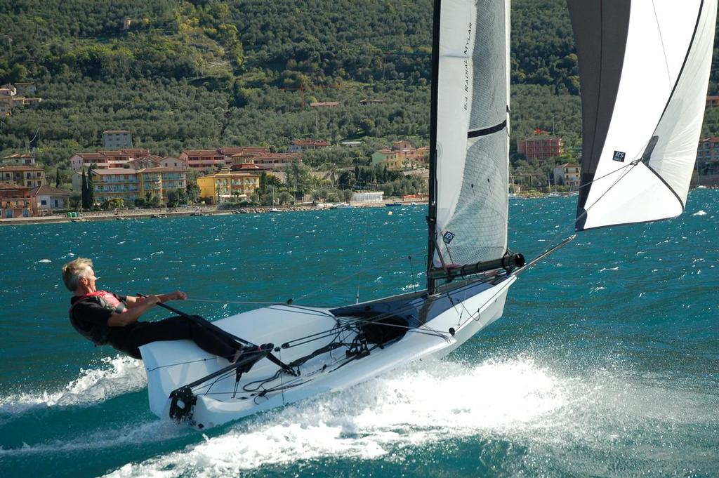 Action time at Lake Como, Italy © RS Sailing http://www.rssailing.com