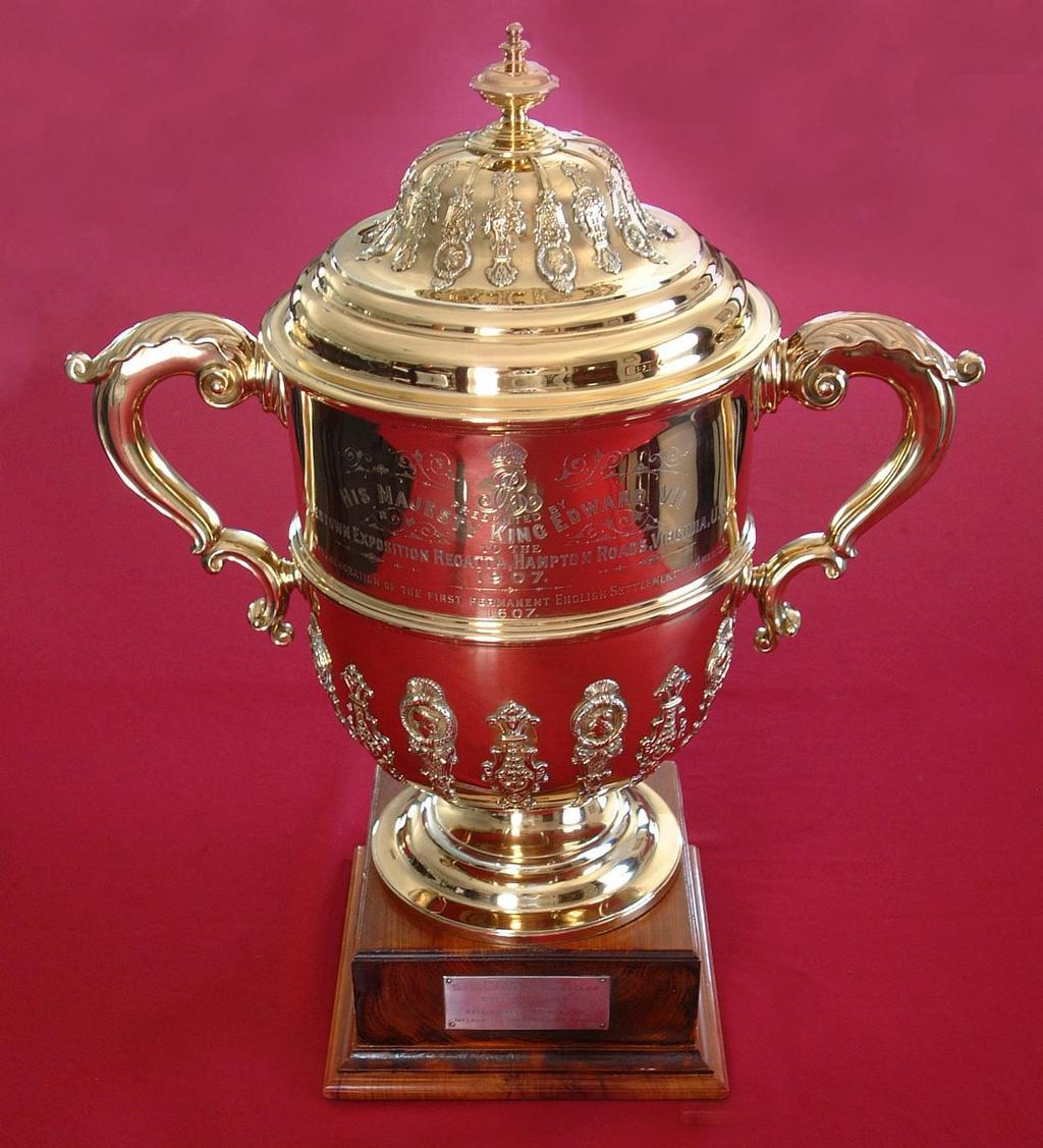 The King Edward VII Gold Cup ©  Talbot Wilson / Argo Group Gold Cup http://www.argogroupgoldcup.com/