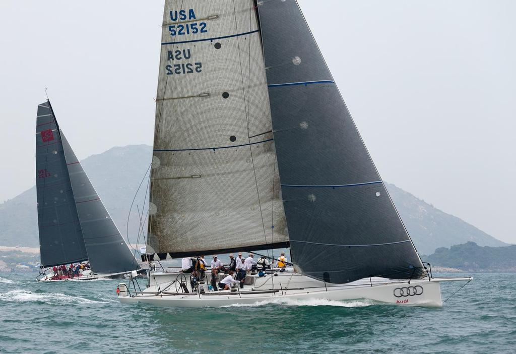 AUDI HK-Vietnam Race 2013 - Lucky on the pace ©  RHKYC/Guy Nowell http://www.guynowell.com/