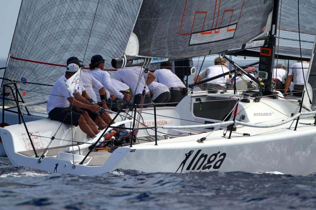 Melges 32 World Championship - races 5 and 6, Inga from Sweden ©  Max Ranchi Photography http://www.maxranchi.com