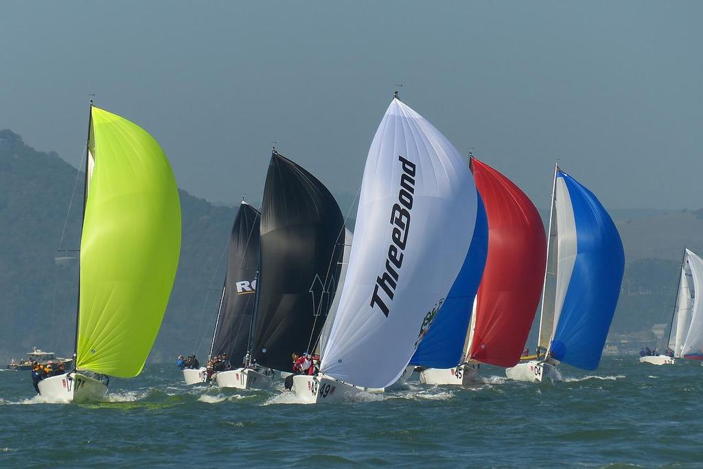 Race 1 - Melges 24 Worlds, San Francisco © John Navas