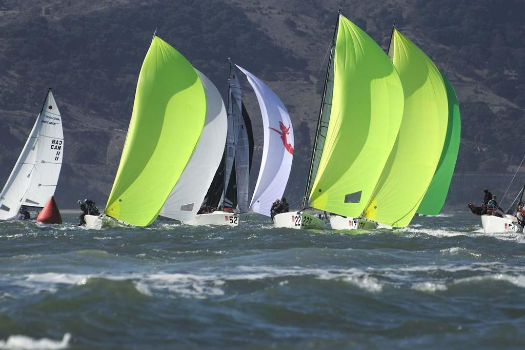 2013 Melges 24 World Championship - Yellow is the new white, apparently © Chuck Lantz http://www.ChuckLantz.com