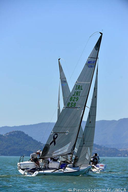 Day 3 in San Francisco Bay at the Sperry Top-Sider Melges 24 Worlds ©  IMCA/ Pierrick Contin http://www.pierrickcontin.com