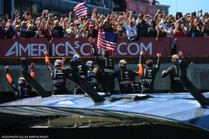 25/09/2013 - San Francisco (USA,CA) - 34th America's Cup - Oracle Team USA vs Emirates Team New Zealand, Race Day 15 photo copyright ACEA - Photo Gilles Martin-Raget http://photo.americascup.com/ taken at  and featuring the  class