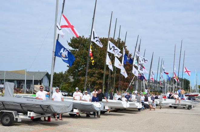Part of the fleet - Day 3, VX One Design - North American Championships, November 2013 © VX One USA