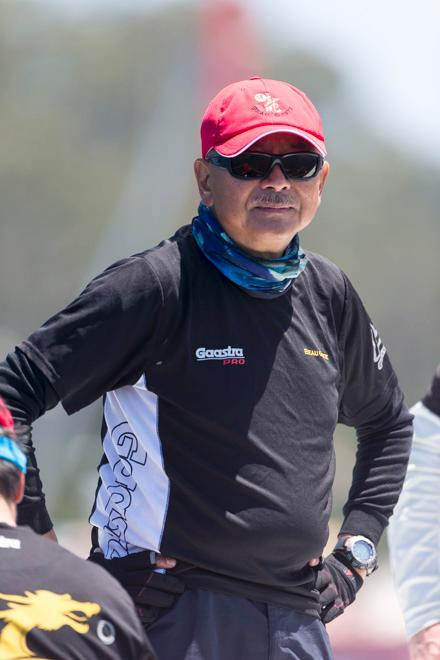 SAILING - TP52 Southern Cup Challenge 2013 - Pittwater, Sydney - 13/12/2013 - Karl Kwok, owner of BEAU GESTE © Andrea Francolini