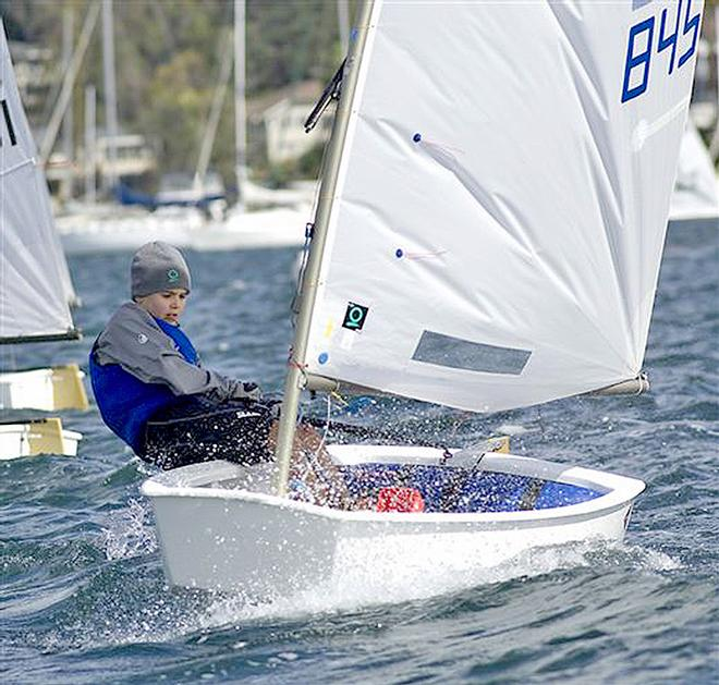 Alec Brodie (2nd in the Recent NSW Youth Champs). © Quantum Sail Design Group http://www.quantumsails.com/
