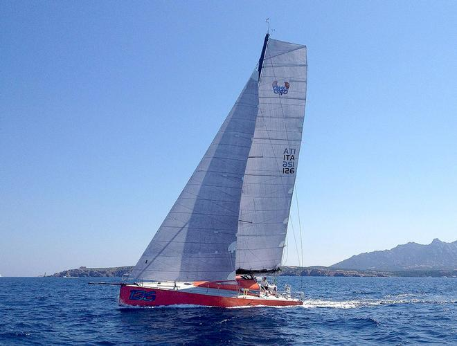 Class 40 with a full wardrobe of 4T Forte sails © OneSails