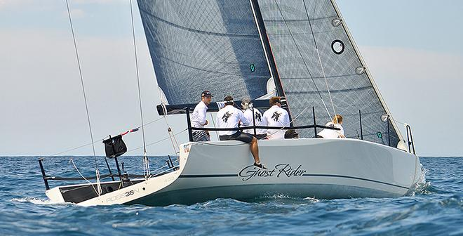 Ghost Rider during the MC38 Australian Championship © McConaghy Boats
