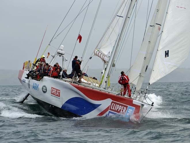 Great Britain - 2013-14  Clipper Round the World Yacht Race © Clipper Ventures PLC . http://www.clipperroundtheworld.com