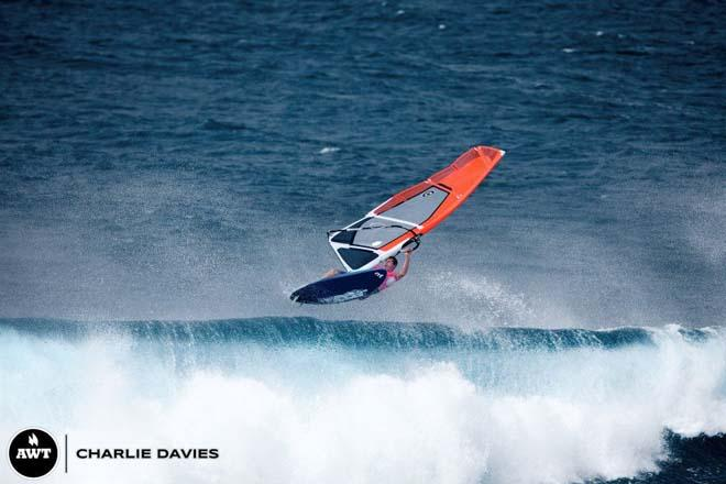 Neil Turpin shows why he made the final last year ©  Charlie Davies / AWT http://americanwindsurfingtour.com/