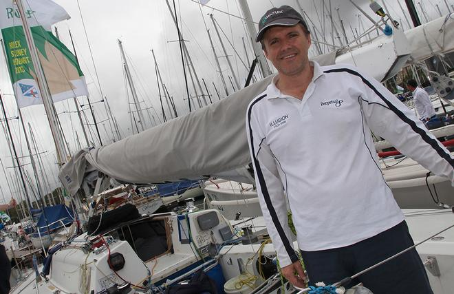 Travis Read, skipper of Illusion © Crosbie Lorimer http://www.crosbielorimer.com