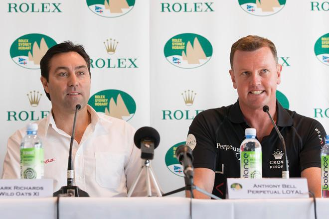 Rolex Sydney to Hobart 2013 Press Conference - Cruising Yacht Club of Australia - Mark Richards and Anthony Bell 26/11/2013<br />  &copy;  Andrea Francolini / Rolex http://www.afrancolini.com