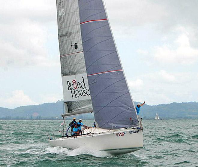 Getting set for a start in Asia with a Sydney 40 sporting a 4T Forte jib © OneSails