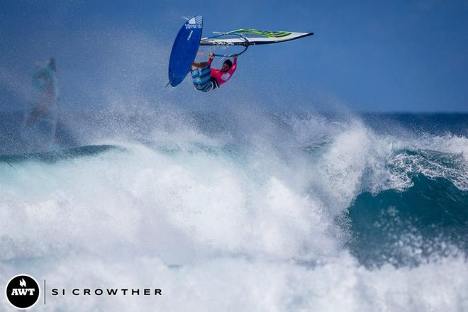 Casey has been pushing his limits, event after event!  © Si Crowther / AWT http://americanwindsurfingtour.com/