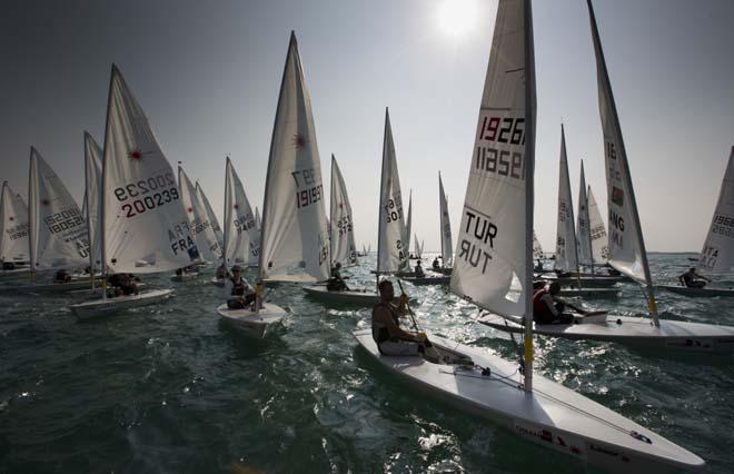 Laser World Championships 2013 day 2 © Lloyd Images
