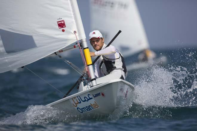 Laser World Championships 2013 Day 3 of racing, Jesper Stalheim (SWE) © Lloyd Images