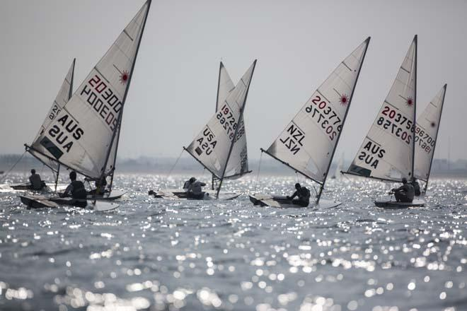 Laser World Championships 2013 Day5 © Lloyd Images