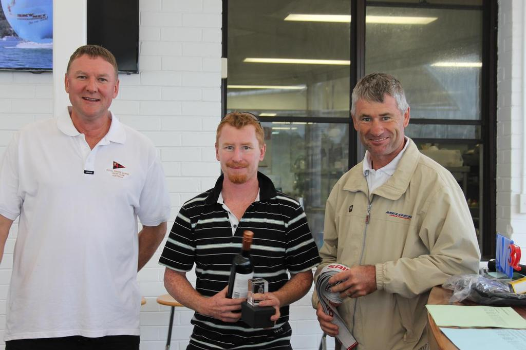 L to R Alan Stroman, David Young, Heath Walters,    M24 Winner © Tracey Walters