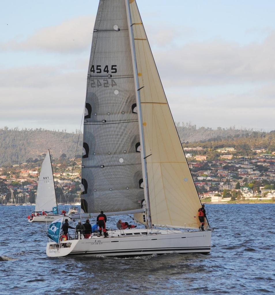 Newcomer Audere will be a strong contender - Launceston to Hobart Race 2013 © Peter Campbell