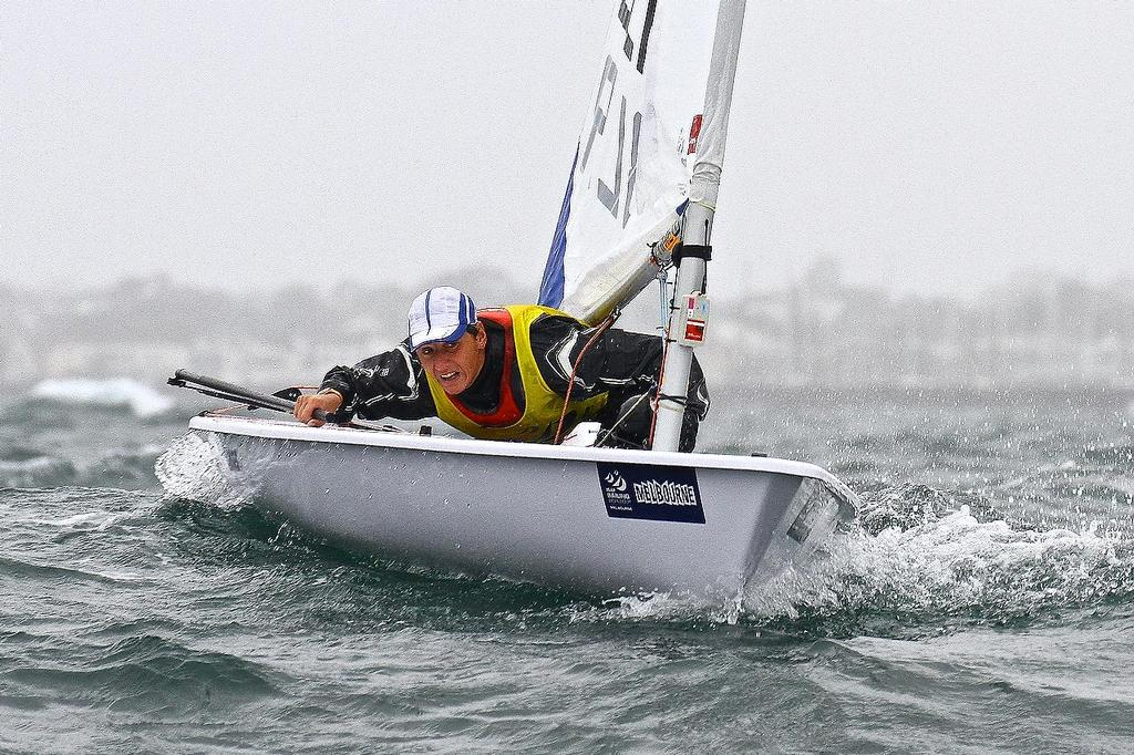ISAF Sailing World Cup, Melbourne Day 3 - Laser Radial © Richard Gladwell www.photosport.co.nz
