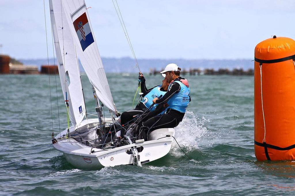 ISAF Sailing World Cup, Melbourne Day 5 470 Mens (CRO) © Richard Gladwell www.photosport.co.nz