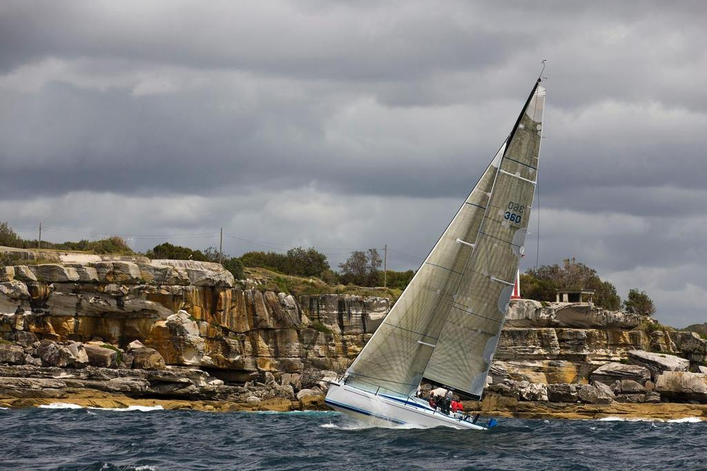 SAILING - CYC Trophy 2013, Sydney - 14/12/2013 PATRICE © Andrea Francolini