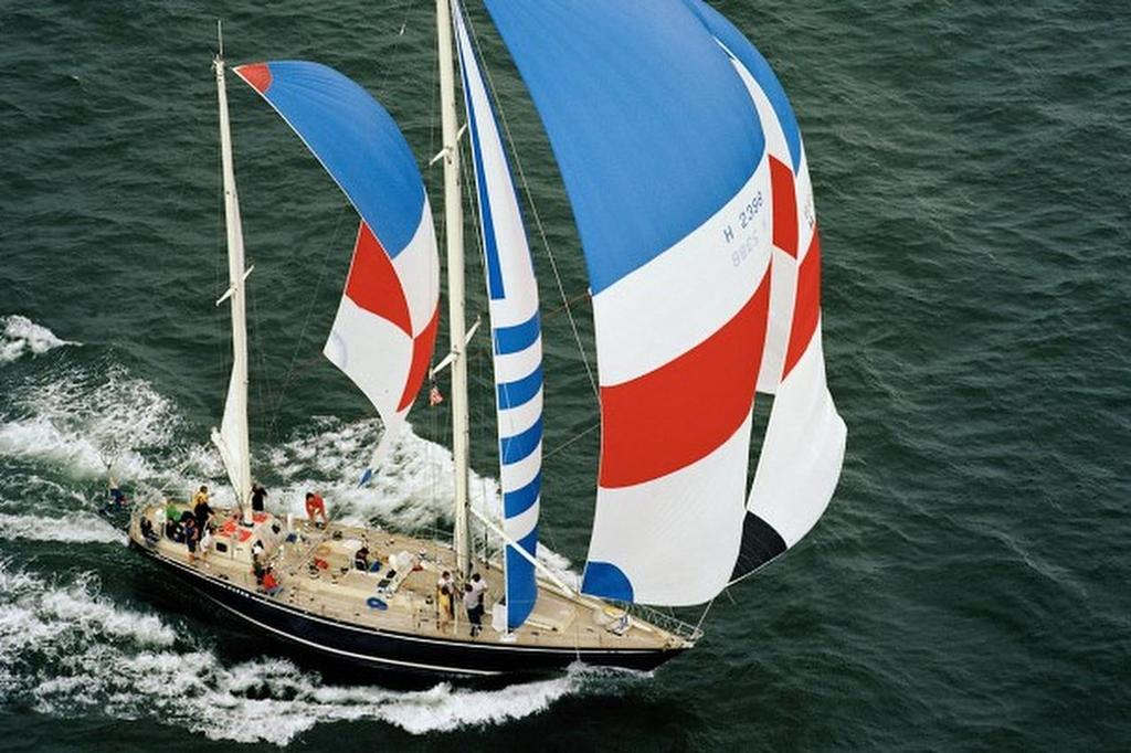 1977/8 Whitbread Round the World Yacht Race: &rsquo;Flyer&rsquo; skippered by Cornelis van Rietschoten Image by Tom Luitweiler/PPL<br />  &copy; Tom Luitweiler/PPL