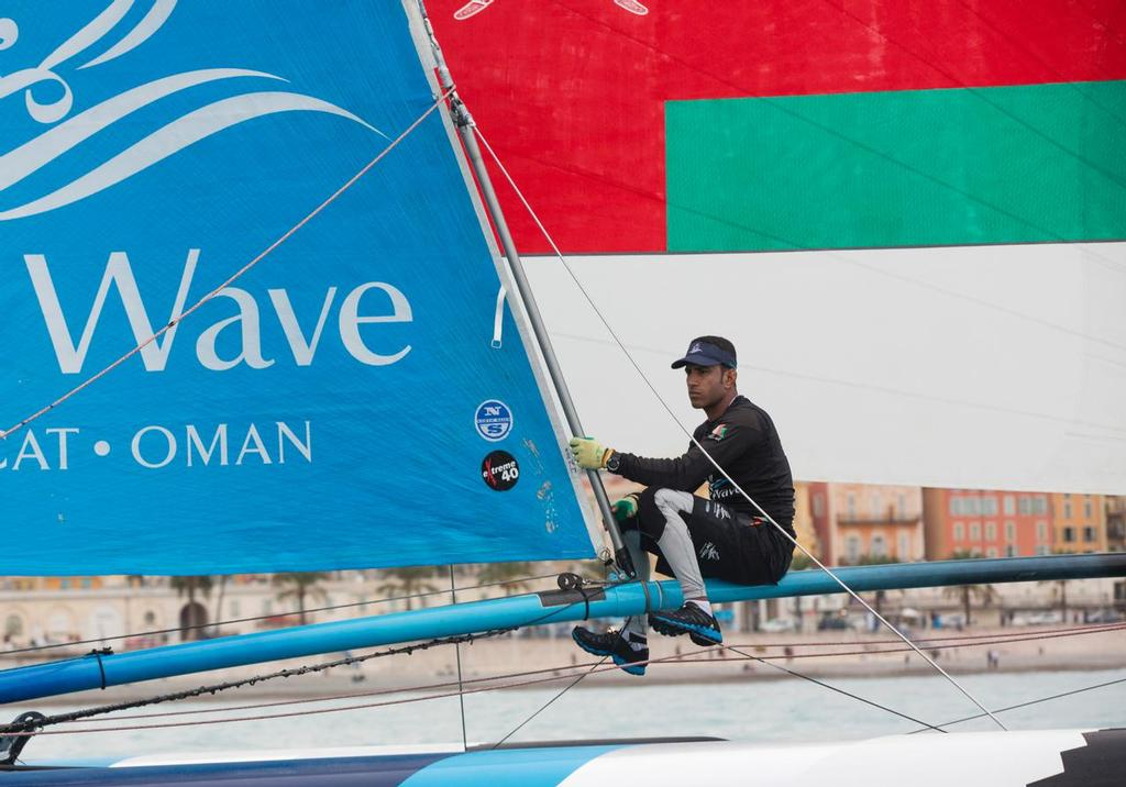 The Wave Muscat in action. photo copyright Lloyd Images taken at  and featuring the  class