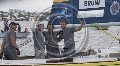 Italy&rsquo;s Francesco Bruni wins the Argo Group Gold Cup<br />  &copy; onEdition http://www.onEdition.com