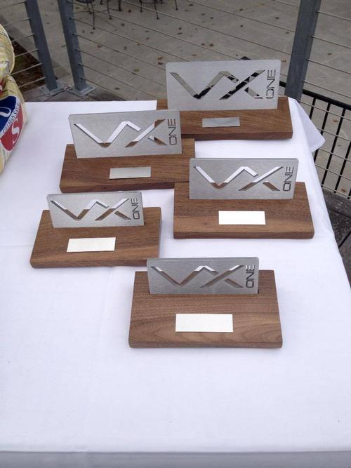 Trophy table - Day 3, VX One Design - North American Championships, November 2013 © VX One USA