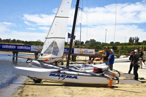 Nacra 17 - a new design for a new Olympic crew concept. © Richard Gladwell www.photosport.co.nz