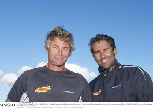 Bernard Stamm (SUI) skipper and Philippe Legros (FRA) © Th.Martinez/Sea&Co