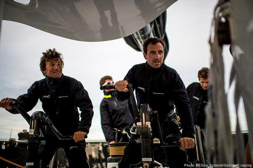 Onboard Spindrift 2 © Chris Schmid/Spindrift Racing