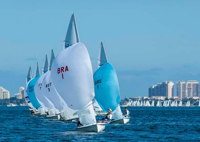 ISAF Sailing World Cup Miami 2014 - Day 1 © Walter Cooper /US Sailing http://ussailing.org/