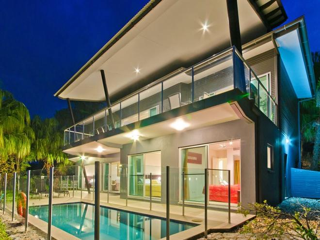You will love the breathtaking ocean views and private pool that Paradise Villa offers. © Kristie Kaighin http://www.whitsundayholidays.com.au