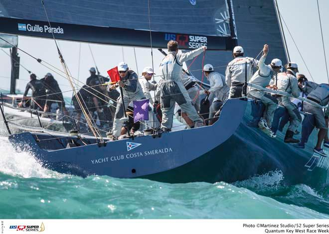 Quantum Key West Race Week - 52 Super Series - Azzurra © Martinez Studio/52 Super Series
