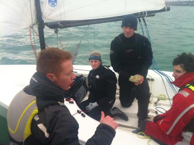 On the water during the BKA Training weekend at WPNSA © RYA/UKSA