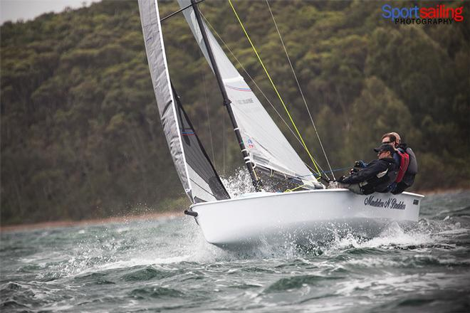 Madder n Badder - VX One Championships in Lake Macquarie 2014 © Beth Morley - Sport Sailing Photography http://www.sportsailingphotography.com