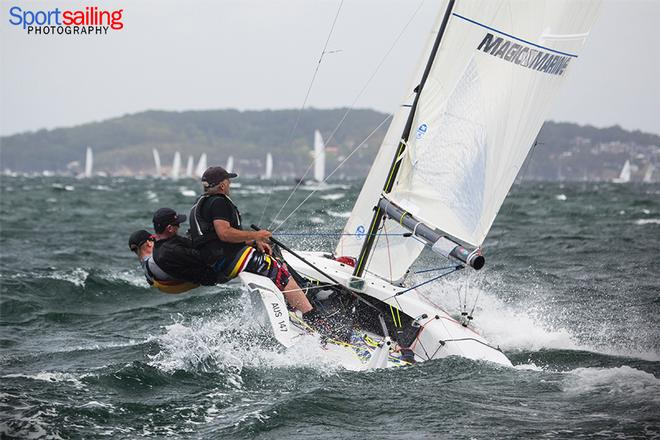 The Limit - VX One Championships in Lake Macquarie 2014 © Beth Morley - Sport Sailing Photography http://www.sportsailingphotography.com