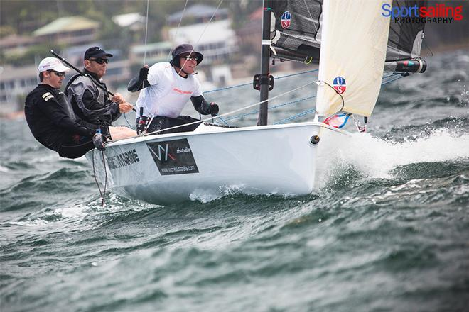 Tachyon - VX One Championships in Lake Macquarie 2014 © Beth Morley - Sport Sailing Photography http://www.sportsailingphotography.com
