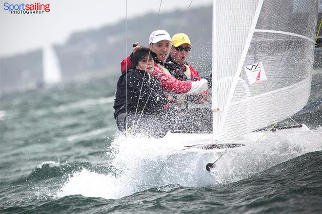 Rock Hard - VX One Championships in Lake Macquarie 2014 © Beth Morley - Sport Sailing Photography http://www.sportsailingphotography.com