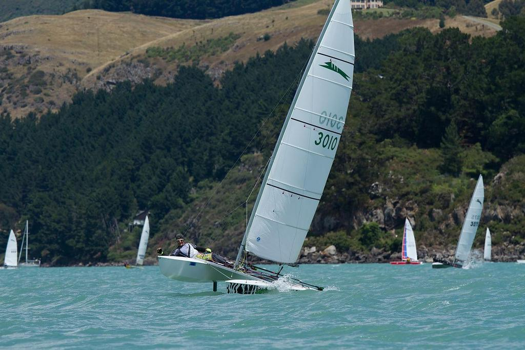 Orams on his way to a race win - 2014 Paper Tiger National Championships © SW