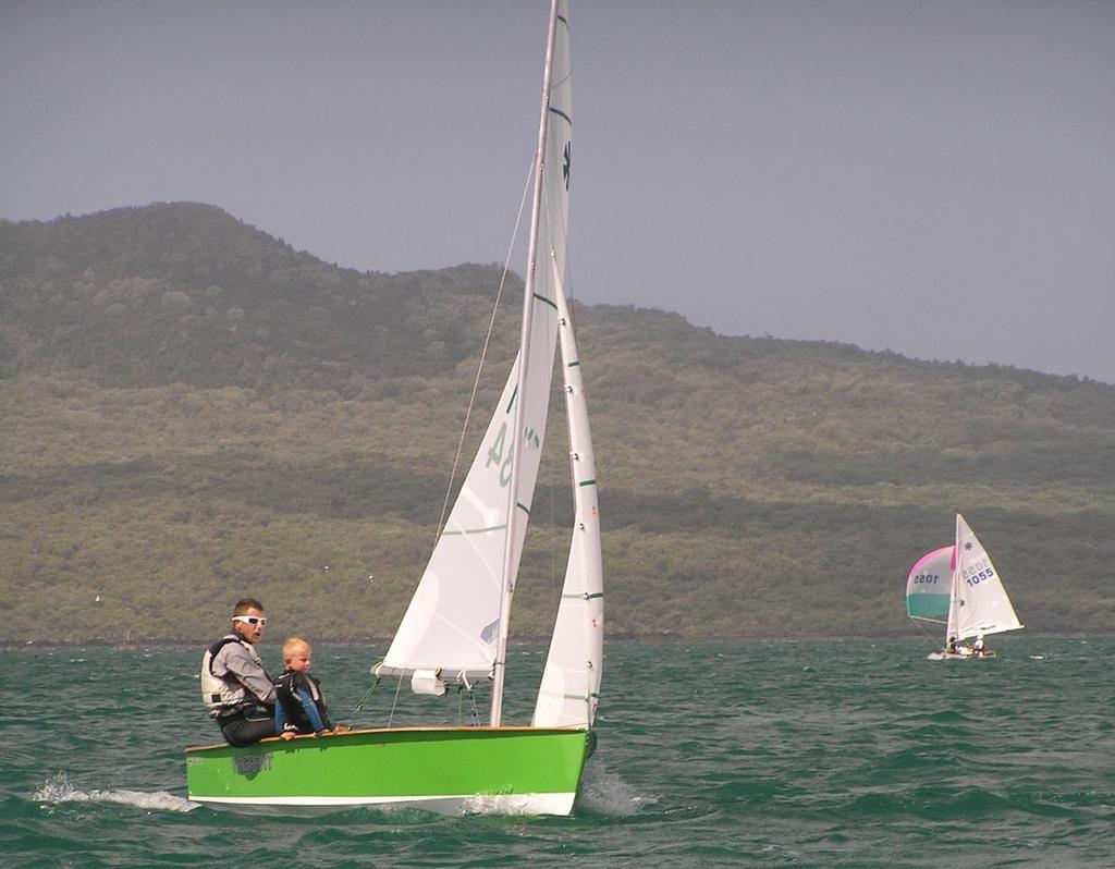 Andrew and Cam Brown sailing #1434