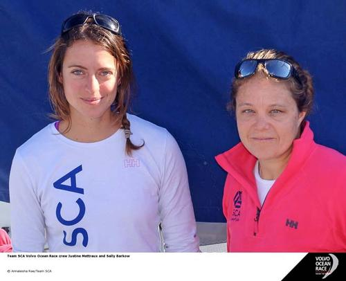 Team SCA, Sally Barkow and Justine Mettraux © Annaleisha Rae/Team SCA http://teamsca.com/