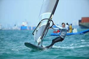 2014 Singapore Open Asian Windsurfing Championships day 3 photo copyright Howie Choo taken at  and featuring the  class