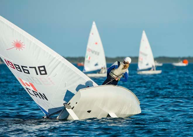 ISAF Sailing World Cup Miami 2014 - Day 2, Laser Radial CAN © Walter Cooper /US Sailing http://ussailing.org/